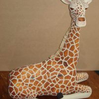 Giraffe by Bev Clark