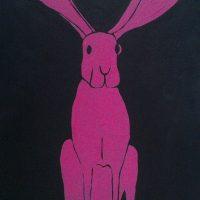 Pink Rabbit by Bev Clark