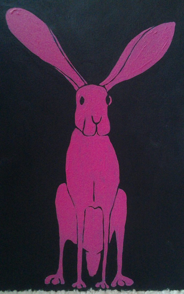 Pink Rabbit by Bev Clark