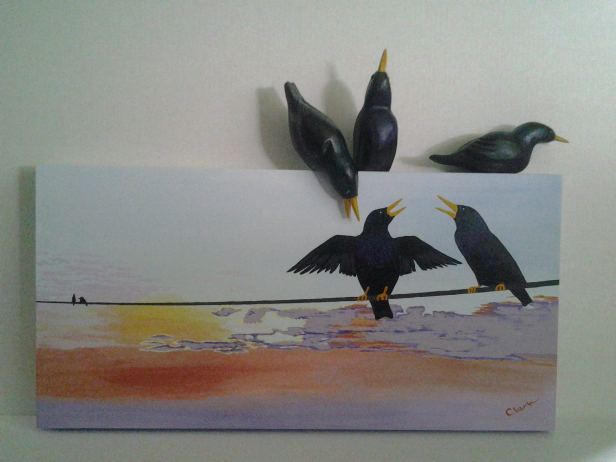 3D Birds by Bev Clark