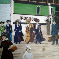 Regatta Memories 4 by Bev Clark