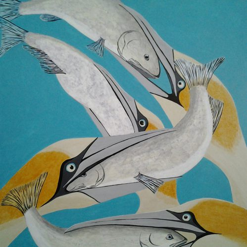 Birds and Fish by Bev Clark