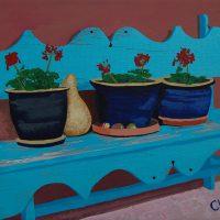 Deb's Bench by Bev Clark