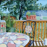 Bistro Table by Bev Clark