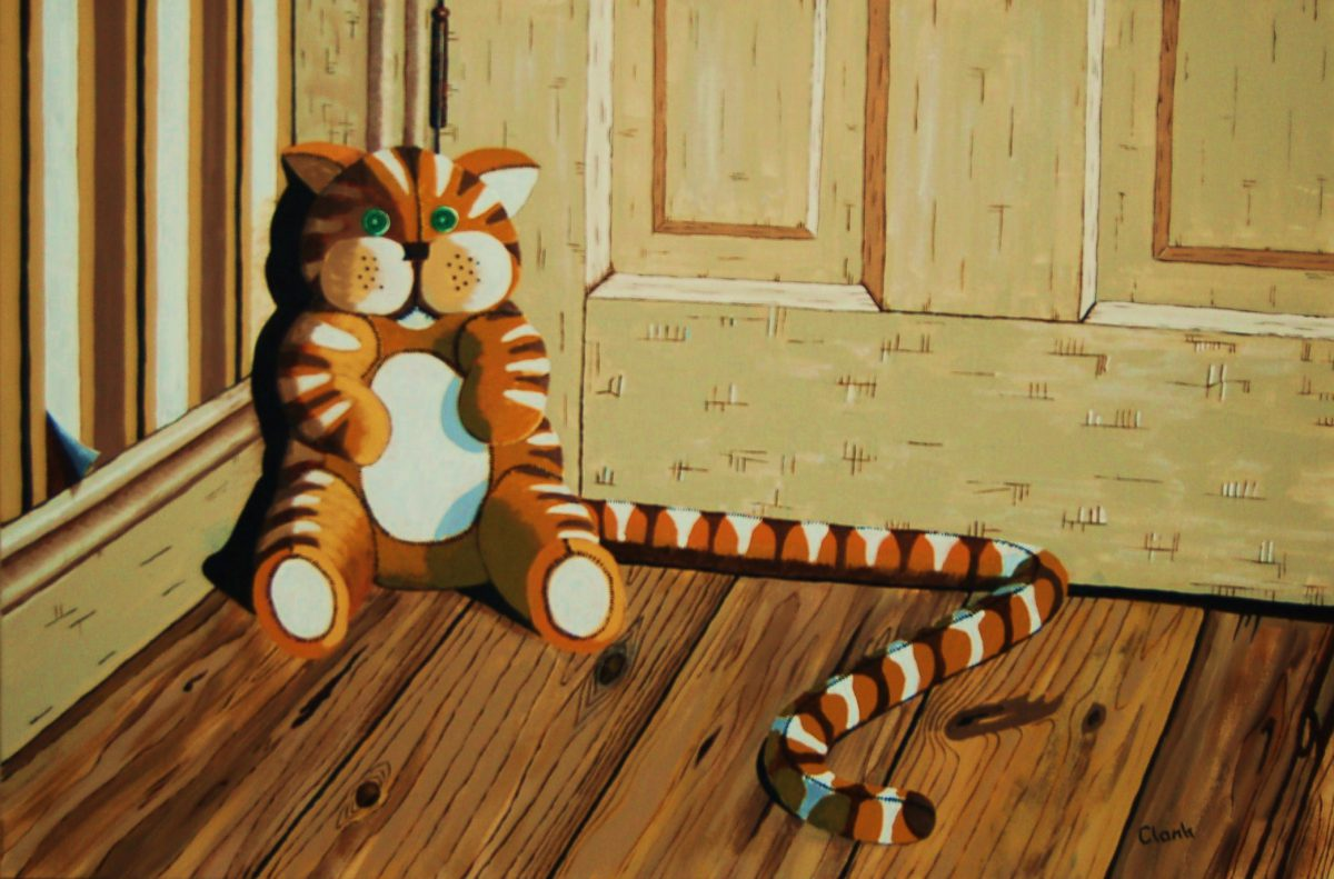 Draught Cat by Bev Clark