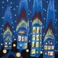 Northern Lights by Bev Clark