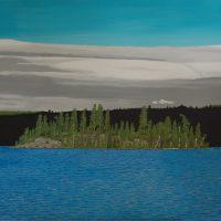 Andy's Island, Rib Lake Island by Bev Clark