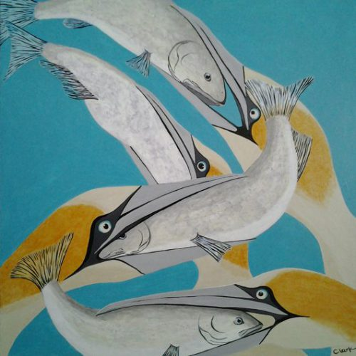Birds & Fish by Bev Clark