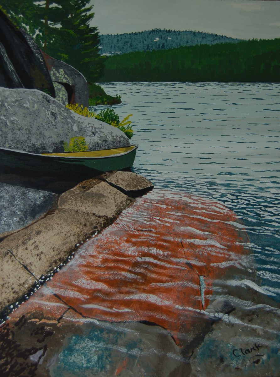 Ruth Roy Lake by Bev Clark