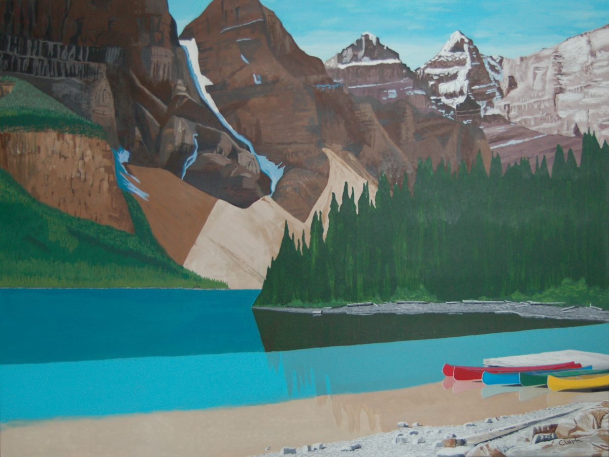Moraine Lake by Bev Clark