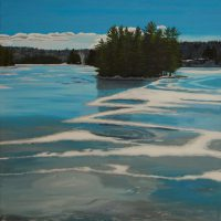 Henshaw Lake by Bev Clark