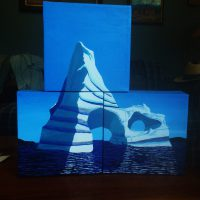 Iceburg in Three Parts by Bev Clark