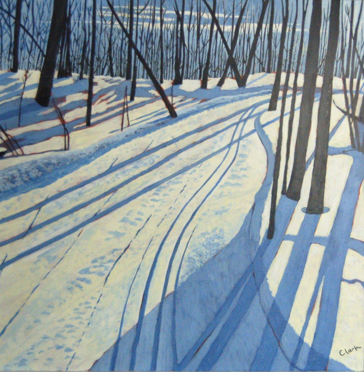 Winter Trails by Bev Clark