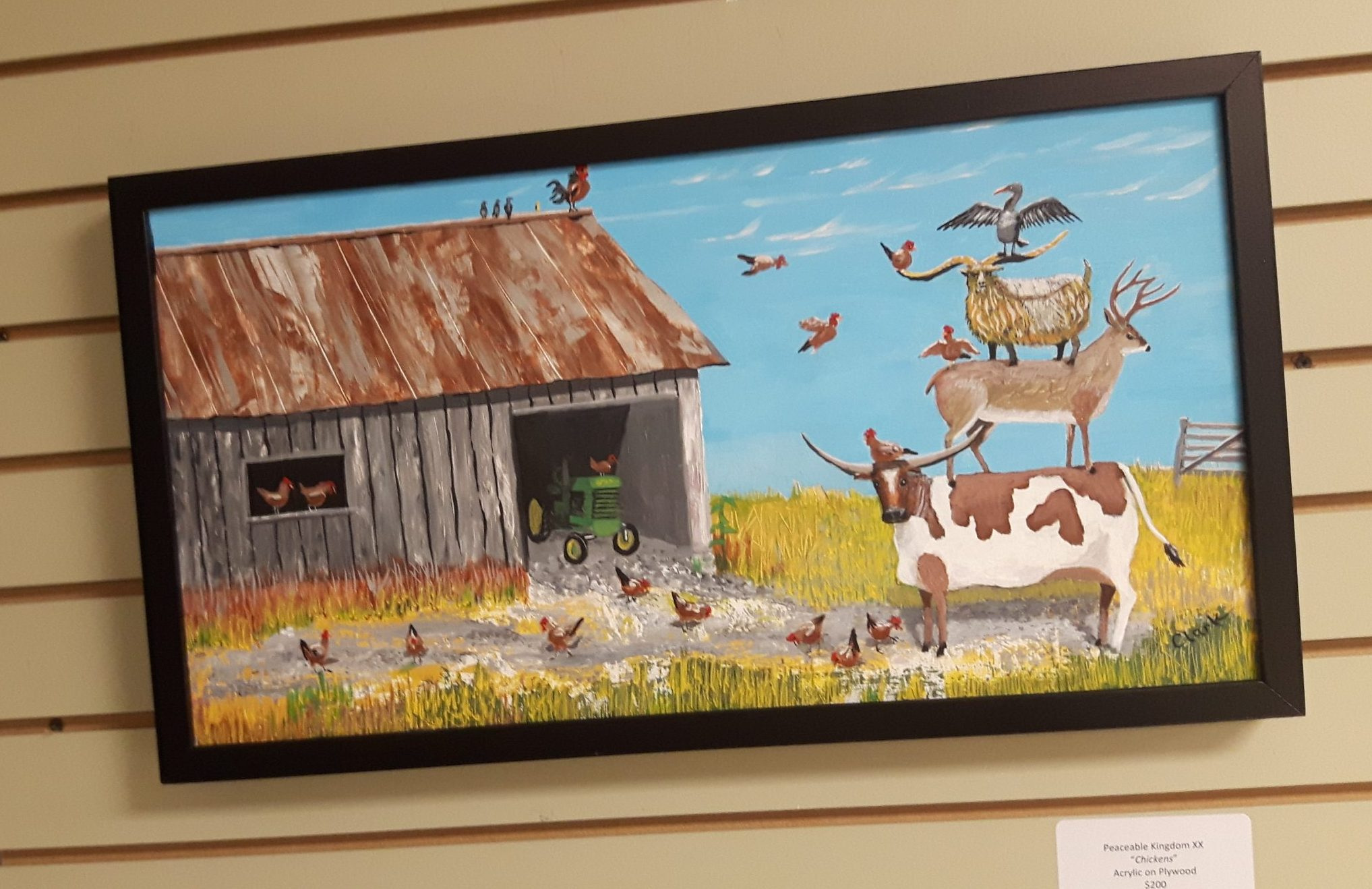 Barn Find at show, by Bev Clark