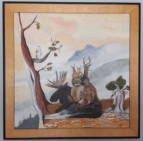 Peaceable Kingdom 3 by Bev Clark